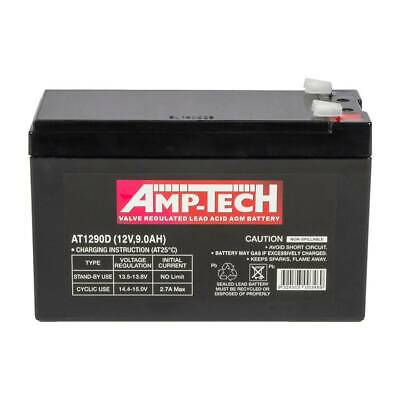 AU55 • Buy NBN BATTERY 12V 9AH AMPTECH AT1290D BATTERY !! ON SALE !! @ CarRite Granville