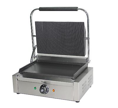 Large Panini Press Toaster Electric Sandwich Maker Commercial Pannini Grill  • 199.99£