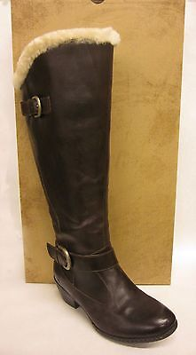 $229.99 • Buy Born Gira Brown Canoe Shearling Lined Knee Boots - SIZE 9
