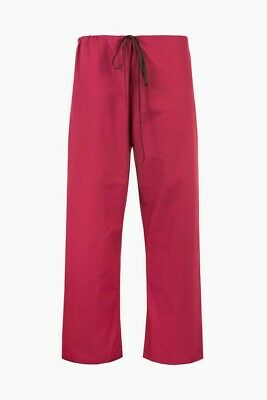£9.77 • Buy Raspberry (Red) NHS Compliant Reversible Scrub Suit (Trousers Only) Set Sold Sep