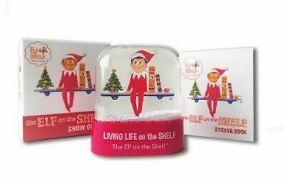 AU21.50 • Buy NEW The Elf On The Shelf Snow Globe By Running Press Book With Other Items