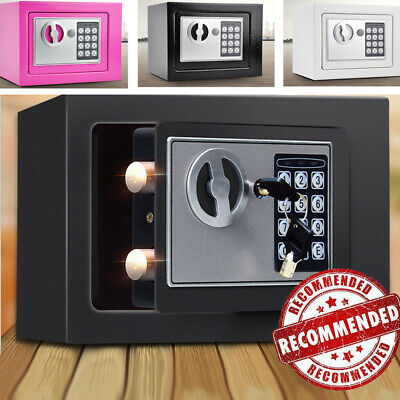 £22.79 • Buy 4.6L Electronic Password Security Safe Money Cash Deposit Box Office Home Safety