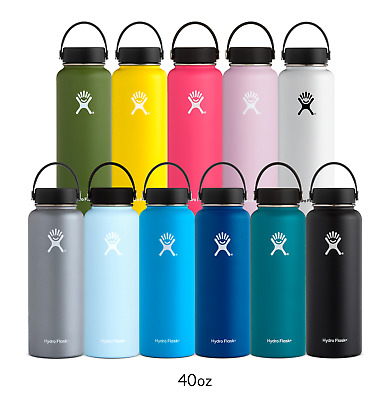 $40.99 • Buy  Hydro Flask Wide Mouth Stainless Steel Bottle With Flex Cap 40oz
