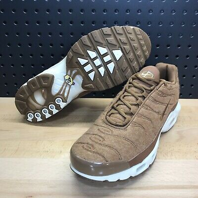 $109.99 • Buy Nike Air Max Plus TN Quilted Ale Brown Wheat 806262 200 Men's Size 8.5