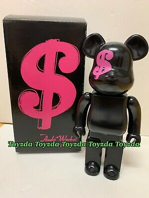 $500.88 • Buy Medicom 2008 ANDY WARHOL BY HYSTERIC GLAMOUR Isetan 400% Be@rbrick Bearbrick 1pc