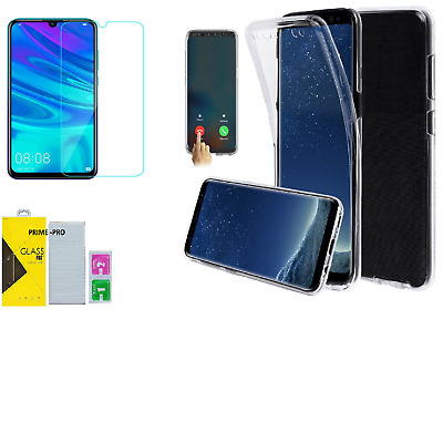 HUWAEI P30 PRO P20 P10 P SMART P40 LITE Tempered Glass Screen Protector Gel Case • 2.98£