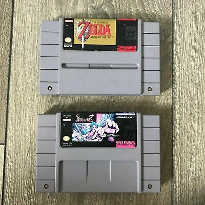 $ CDN75 • Buy The Legend Of Zelda: A Link To The Past And Breath Of Fire 2 Games SNES Lot