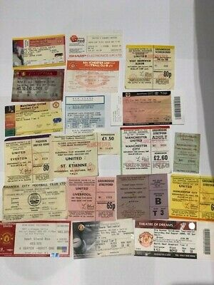 19 Manchester United Match Tickets, Many Big Match - You Choose • 2.49£
