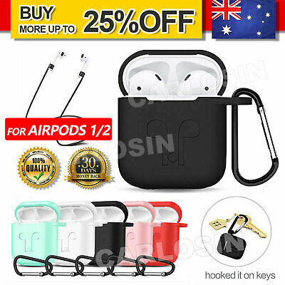 AU4.95 • Buy For Airpods Case Cover Skin Anti Lost Strap Anti Scratch Shockproof Holder