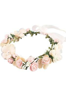 $0.99 • Buy Women Wedding Floral Wreath Hairband Flower Headband Hair Garland Crown