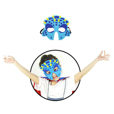 2PCS Dinosaur Party Masks Animal Face Mask For Dinosaur Themed Party Masquerade • 3.29£