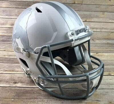$199.99 • Buy New England Patriots Full Size Riddell Authentic Ice Speed Football Helmet 3D