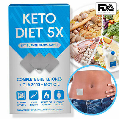 $16.95 • Buy Keto Diet Advanced Weight Loss Patch Pure Ketogenic Diet Supplements 30 Patches