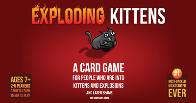 AU39.95 • Buy Exploding Kittens Card Game