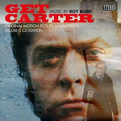 BUDD, ROY-Get Carter O/S/T: 3Cd Deluxe Hardback Edition CD NEW • 24.73£