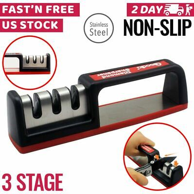 $9.49 • Buy Knife Sharpener Professional Kitchen Blade Sharpening Tool Small Handheld System