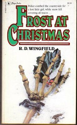 Frost At Christmas By Wingfield, R. D. Book The Cheap Fast Free Post • 94.99£