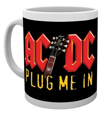 £9.95 • Buy Official Ac/dc Plug Me In Coffee Mug Cup New And Gift Boxed