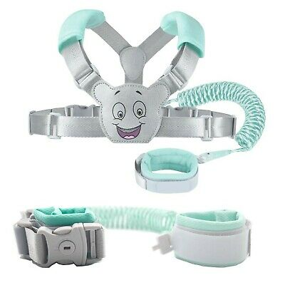 Baby Reins Walking Harness For Toddlers, Kids, Children, 3-in-1, Anti Lost Sa... • 27.99£