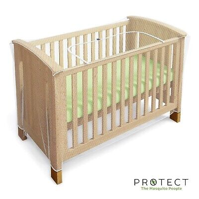 £30.99 • Buy Mosquito Net For Cot, Crib & Cot Bed - Baby Mosquito Insect Net - Cat Net Wit...