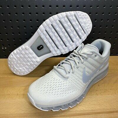 $129.99 • Buy Nike Air Max 2017 Pure Platinum White Wolf Grey Running 849559 009 Men's Size 12
