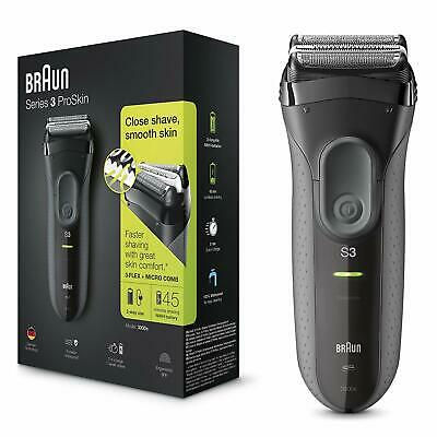 View Details Series 3 ProSkin 3000s Electric Shaver Rechargeable And Cordless Electric Razor • 52.35£