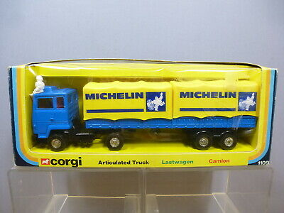 VINTAGE CORGI TOYS MODEL No.1109   MICHELIN    ARTICULATED FORD TRUCK   MIB • 125£