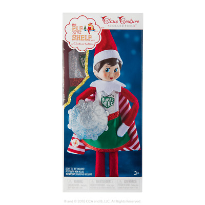 AU24.95 • Buy Elf On The Shelf Claus Couture Collection-Scout Elf Superhero Girl