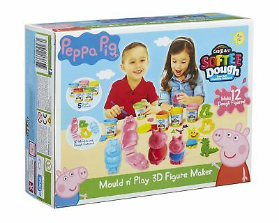 Peppa Pig Dough Mould And Play 3D Figure Maker (Multi-Colour) • 33.99£