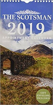 The Scotsman Appointment Calendar: 12 Magnificent Scenes Of Beautiful Scotland • 12.99£