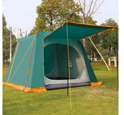 AU500.49 • Buy 4 6 Man Person Family Cabin Tent Automatic Pop Up Quick Camping Shelter Car Bush