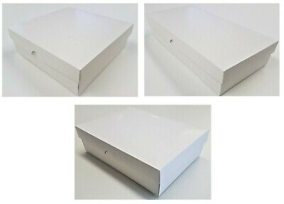 Deep Gift Box / Greeting Card - 50mm Deep - Solid Lid - 10 Sizes To Choose From • 9.87£