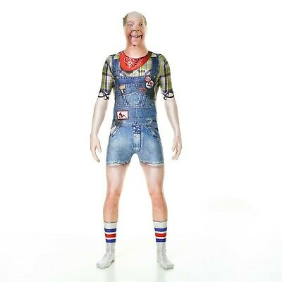 """Morphsuits Official Hillbilly Fancy Dress Costume - Size Large - 5""""5-5""""9 (163... • 34.99£"""
