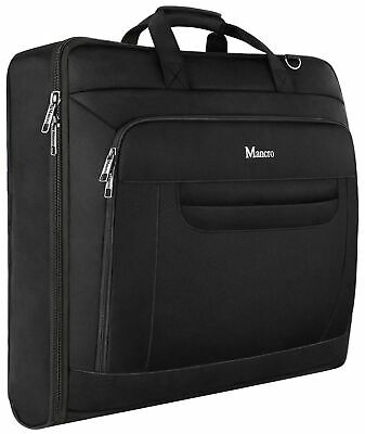 Mancro Carry-on Garment Bag, 46 Inches Suit Carrier For Men And Women,Waterpr... • 41.99£