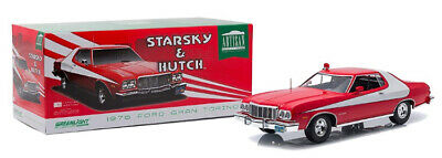 Ford Gran Torino 1976 - Starsky And Hutch 1:18 (Greenlight 19017) • 67.95£