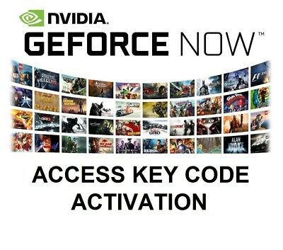 $ CDN77.85 • Buy Nvidia Geforce Now Access Key Code Mac / Pc / Android Phone / Fast Delivery