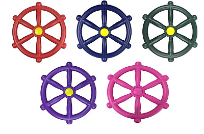Kids Pirate Wheel Steering Wheels For Climbing Frames Play House And Tree Houses • 11.75£