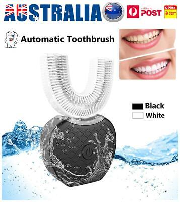 AU43.90 • Buy Automatic 360° Electric Wireless Sonic Toothbrush Teeth Whitening USB Charging