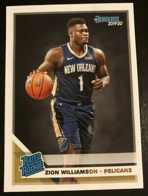 $7.90 • Buy 1 Zion Williamson Panini Donruss Rated Rookie RC Pelicans 💥💥