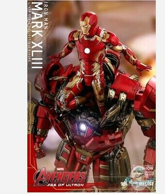$ CDN483.67 • Buy 1/6 Avengers Age Of Ultron Iron Man Mark XLIII MMS 278 Hot Toys 904123