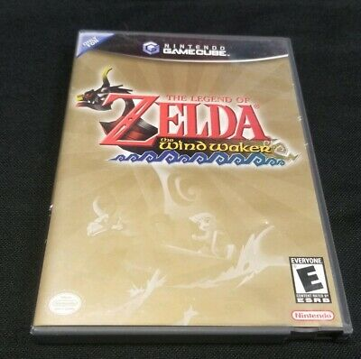 $40 • Buy The Legend Of Zelda: The Wind Waker GameCube Black Label CIB FAST FREE SHIPING