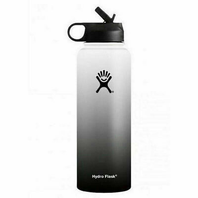 $32.85 • Buy Hydro Flask Water Bottle Stainless 32 OZ Insulated Wide Mouth Lid Straw Drink