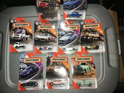 $17 • Buy  Lot Of (9) New For 2020 Matchbox ,vw,bmw,mercedes,33 Ford,lambo,chevy And More!