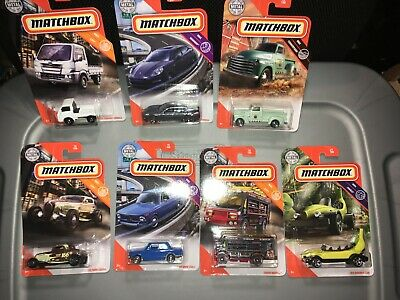 $12 • Buy  Lot Of (7) New For 2020 Matchbox ,bmw,porsche,33 Ford,chevy,subaru And More!!!!