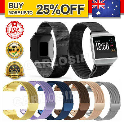 AU11.95 • Buy For Fitbit Ionic Smart Watch Band Milanese Replacement Wrist Strap Bracelet AU