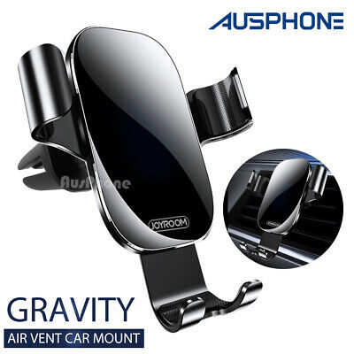 AU16.45 • Buy Universal Gravity Car Cradle Air Vent Mount Holder Stand For Smart Mobile Phone