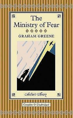 The Ministry Of Fear (Collectors Library) (Hardcover) Book By Graham Greene • 6.99£