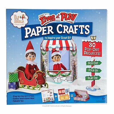 AU22.36 • Buy Elf On The Shelf Pets-Scout Elves At Play Paper Crafts