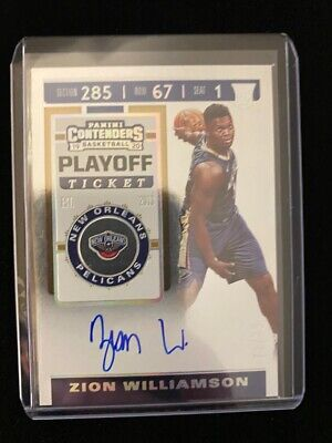 $2999.99 • Buy 2019-20 Panini Contenders Zion Williamson RC Auto #72/75 OnCard Rookie Autograph