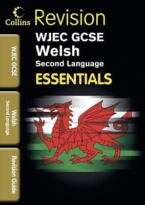 Essentials: WJEC GCSE Welsh Second Language: Revision Guide By Jo Knell • 3.48£